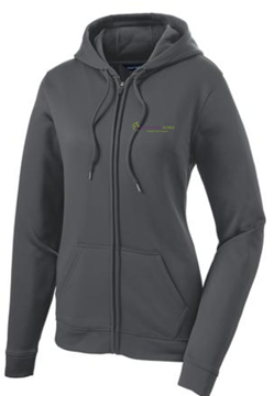 Picture of Ladies Sport-Wick® Fleece Full-Zip Hoodie (LST238)