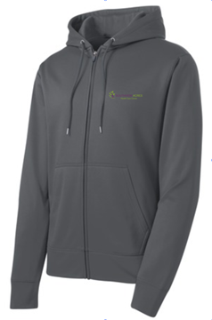 Picture of Mens Sport-Wick® Fleece Full-Zip Hoodie (ST238)
