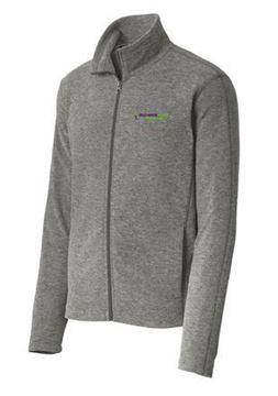 Picture of Port Authority® Heather Microfleece Full-Zip Jacket (F235)