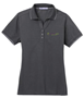 Picture of Women's P.A. Rapid Dry Tipped Polo (L454)