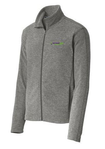 Picture of Port Authority® Heather Microfleece Full-Zip Jacket (F235)