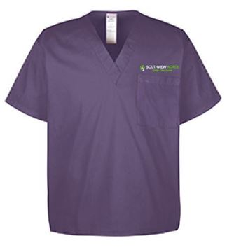 Picture of Harriton Adult Restore 4.9 oz. Scrub Top (M897)
