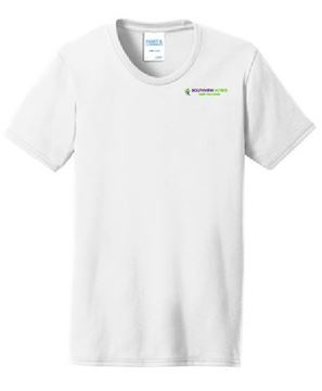 Picture of Port & Company® Ladies Core Blend Tee EB (LPC55)